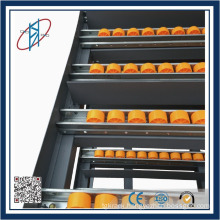 Gravity Roller Pallet Flow Rack