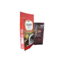 Moisture Proof Coffee Valve Bags Side Gusset , Zip Tea Bag