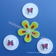 Etiqueta del pvc, remiendo de goma, diseño precioso para la etiqueta de la ropa de los cabritos