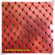 Aluminiumlegierung / dekorative / Metall Vorhang Mesh zum Verkauf