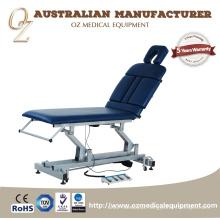 Boa Qualidade CE Aprovado Fabricante Australiano Clínica Médica Clínica Elétrica 2 Seção Fisioterapia Tratamento Sofá Atacado