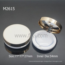 Luxury Cosmetic Containers Round Powder Packaging