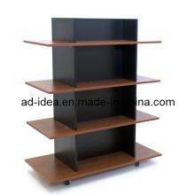Display Stand /Wooden Floor Display Rack/ Floor Display Stand (AD-MD-9854)