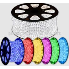 110 В 220 В 240 вольт светодиодные ленты 3528 60leds/м 5050 RGB светодиодные полосы света