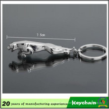 Car Logo Jaguar Shape Keychain