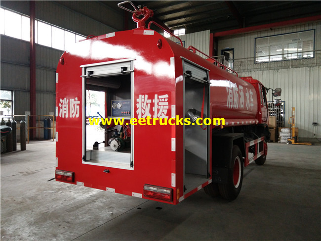Water Sprinkler Fire Truck
