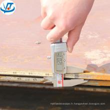 Plaque d'acier balistique laminée à chaud NM500 NM550 AR500