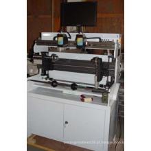 Máquina de montagem de placa flexográfica