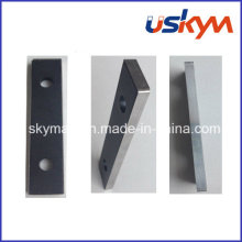 Holding NdFeB Magnet Coated Teflon with Steel Metal
