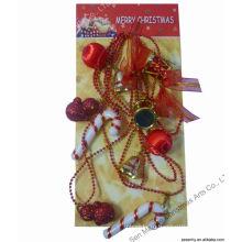 Подарочная коробка из бисера стрип-пластика Рождественские украшения