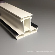 Milk White Color Pvc Profiles