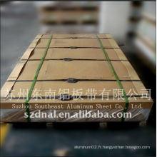Plaque / plaque en aluminium anodisé 3004 à chaud