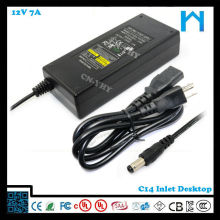 desktop power supply 12V 7a 84w ZF120A-1207000