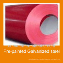 VORLACKIERTER Stahl verzinkt Spulen mit guter Qualität und Preis