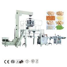Nüsse Trockenobst Wiegen Verpackungsfüllmaschine