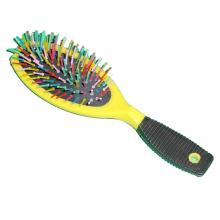 HB-008 Plastic Handle Salon & Household Hair Brush Straighten Dryer Hair Brush