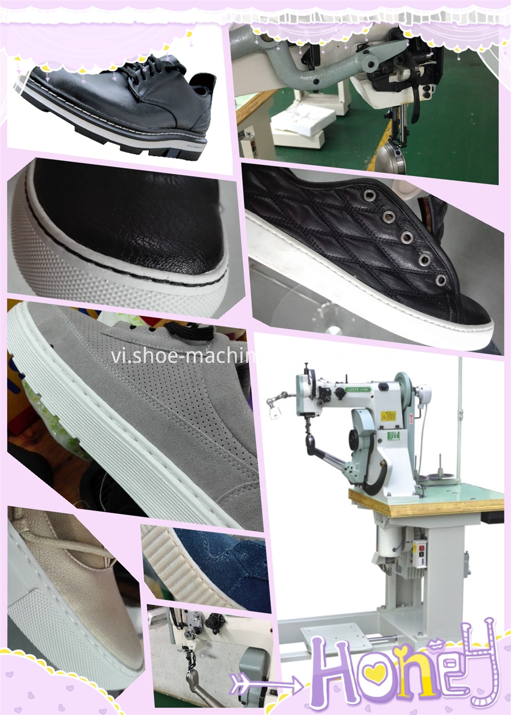 Outsole Stitching Machine