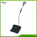 Plastic Snow Shovel with Ergonomic Steel Handle