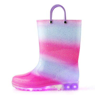 2020 New Wholesale Cheap Natural Rubber Rain Boots for Kids