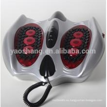Pie de pulso masajeador con pastillas de pulso de masaje eléctrico, electrodo del masaje