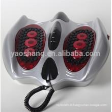 Pied d'impulsion masseur avec des tampons impulsion électrique de massage, massage électrode