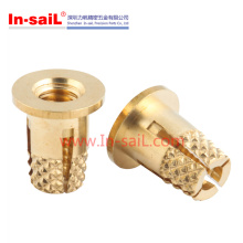 Flanged Expansion Brass Insert Nut of PCB