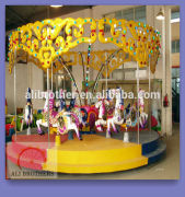 [Ali Brothers]amusement park equipment 24 seats carousel rides with different models