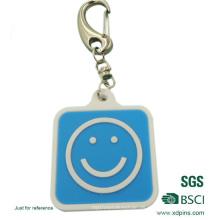 Populärer PVC Keychain, Polyester-Keychain mit Haken