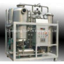 Filtration d'huile de cuisson de rebut et machine de reconditionnement