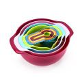 Süße Farbe Rührschüssel 10er Set