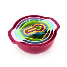 Juego de mesa Sweet Color Mixing Bowl 10pcs