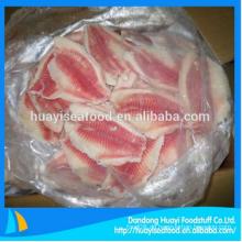 Gefrorenes Tilapiafilet im Fischgroßhandelspreis