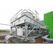 Radiateur refroidisseur de tube d'aileron de noyau en aluminium de Wst Air
