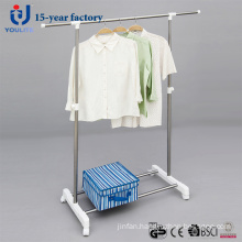 Ylt-0308A Stainless Steel Single Rod Telescopic Clothes Hanger