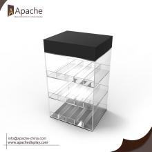Excellent quality for Acrylic Display Holder,Acrylic Display Box,Acrylic Menu Holder Wholesale From China Acrylic Vape Pens Display Case With LED supply to Faroe Islands Exporter