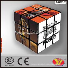 Neste marca OEM cubo mágico puzzle Alta qualidade personalizada para publicidade promocional e