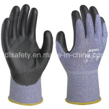 18 Gauge Anti-Cut Safety Glove with PU Coating (K8091-18)