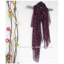 Tier gedruckter langer Schal