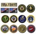 Patch militaire de broderie Patchs de moral tactique de l'armée