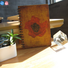 A5 spiral Flower Cover Notebook for Promotion (XLX-3296-X01)