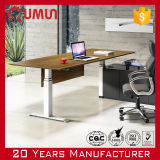 2016 New Design Qumun Electric Lift Office Table Height Adjustable Desk China Manufacturer