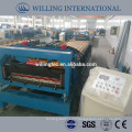 2015 latest new steel concrete roof tile machines price