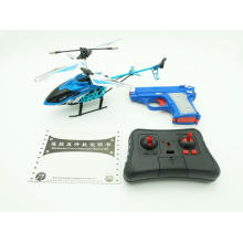 2CH RC Alloy Helicopter & Shooting