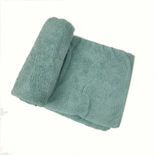 High Quality Microfiber Weft Coral Fleece Cleaning Towel