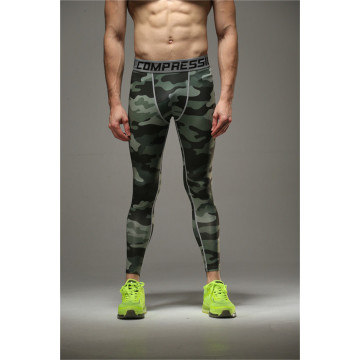 Mens MMA Strumpfhosen Sublimation bedruckt Bodybuilding Leggins
