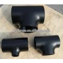 DN100*DN50 SCH40 P235GH steel tee for welding