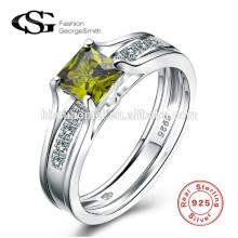 AAA Zircon geschnitzte Luxus heißer Verkauf Eheringe neuesten Hochzeit Silber Ring Designs für Mädchen