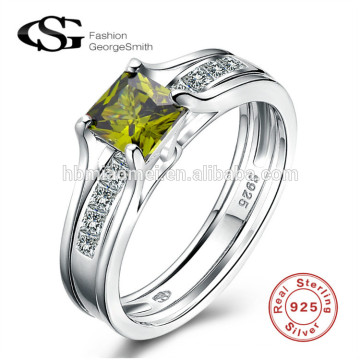 AAA Zircon carved luxury hot sell wedding rings latest wedding silver ring designs for girl