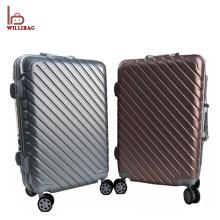 Carry on travel bag mala de bagagem em alumínio tamanho bag