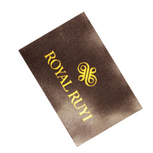 New Design End Fold Textiles Custom Weaving Brand Name Logo Satin Woven Labels for shirts